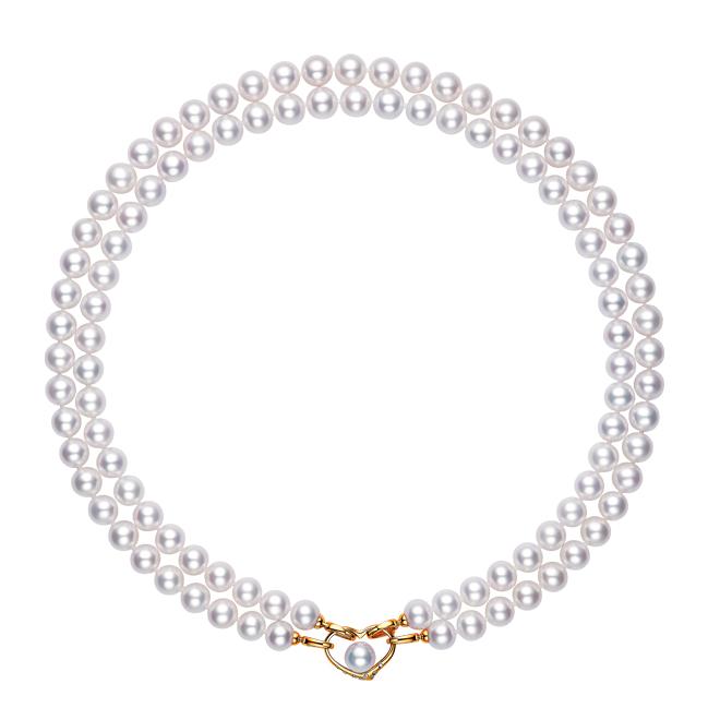G18K金珍珠项链